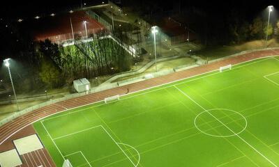 Sportstättenbeleuchtung