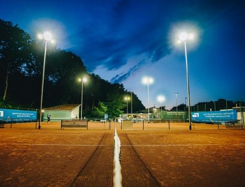 Tennis um Mitternacht