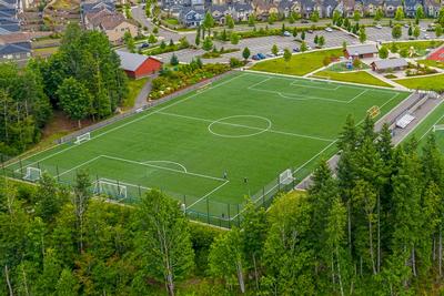 Kundenbeispiel Fußballplatz