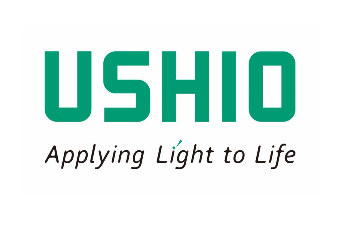 Logo USHIO Applying Light to Life
